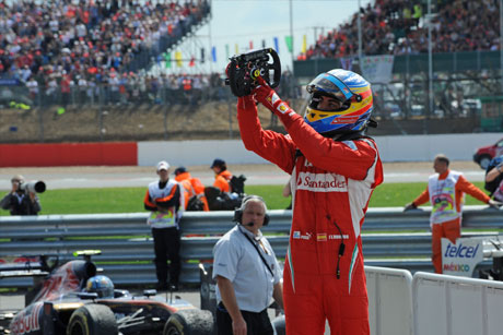 Fernando Alonso win in 2011.