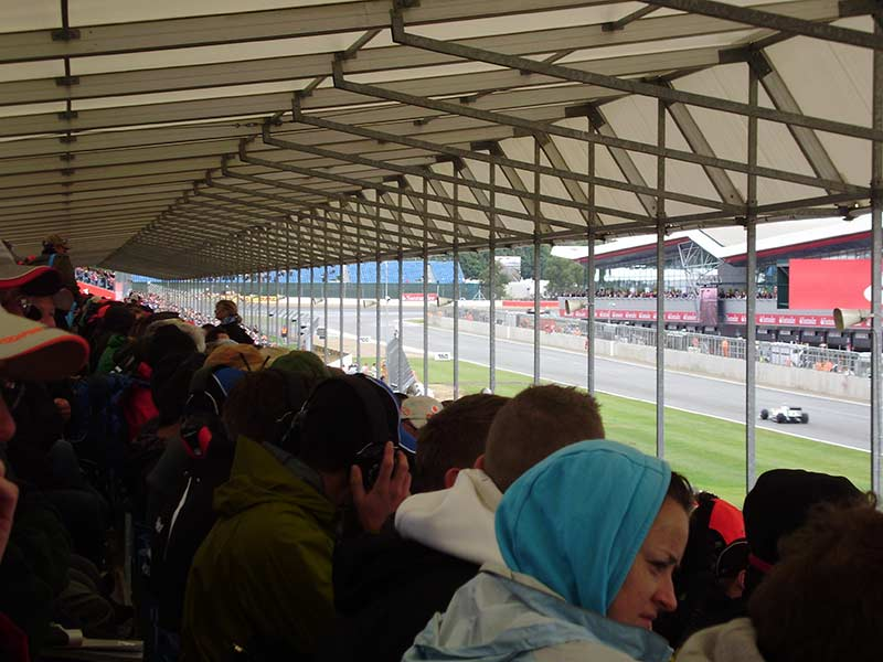 International Pit Straight