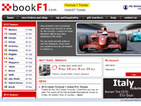 BookF1.com F1 tickets