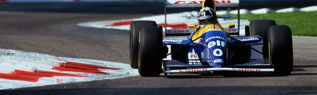 Damon Hill at Monza