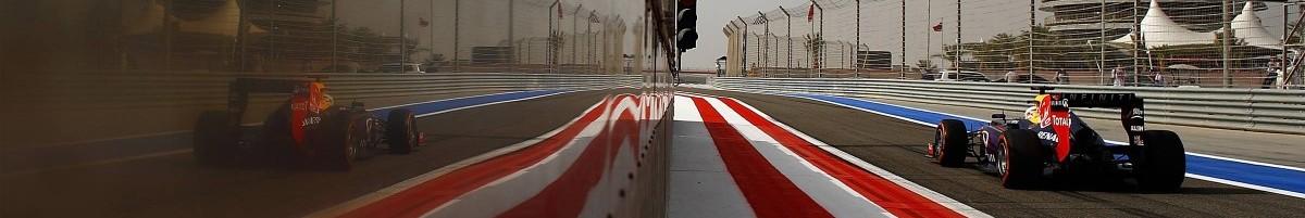 Bahrain pit exit