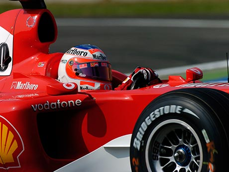 Rubens Barrichello holds the lap record at Monza