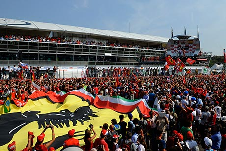The Tifosi are Ferrari's passionate fans