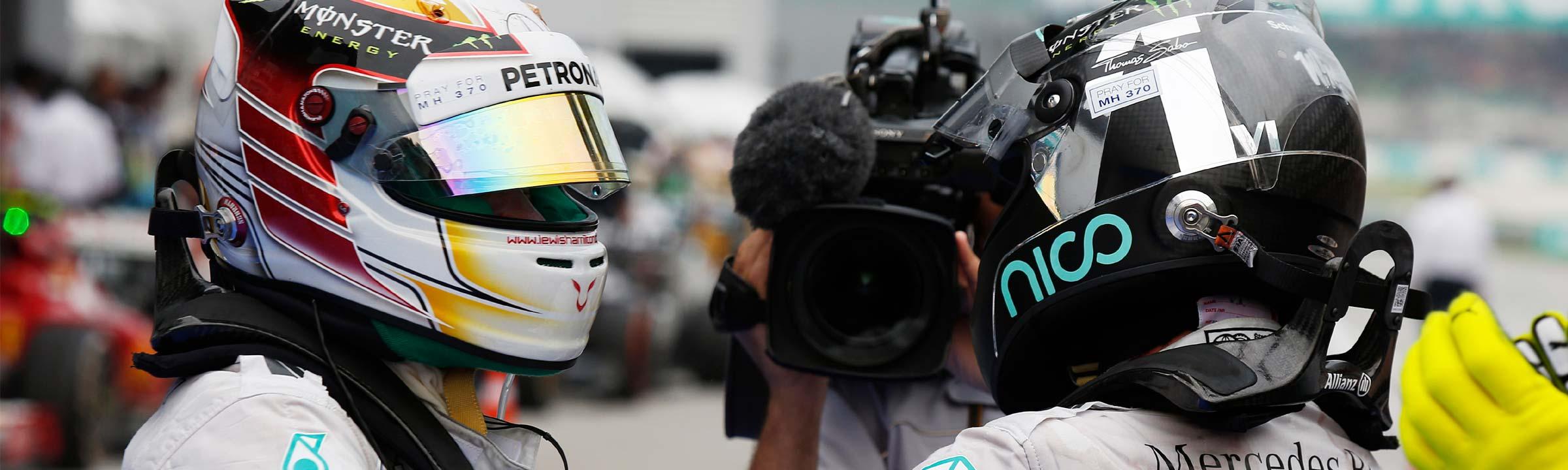 Lewis Hamilton and Nico Rosberg Rivalry