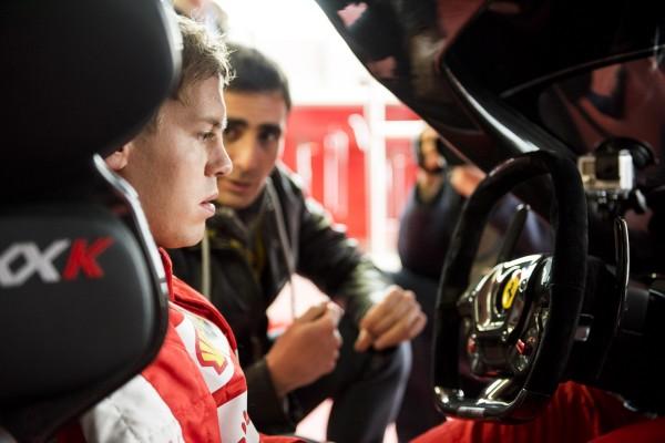 Vettel in FXX K