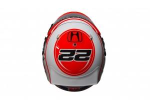 Jenson Button 2015 Crash Helmet - Top View