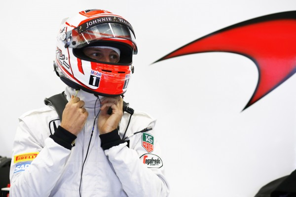 2015 Jenson Button Helmet