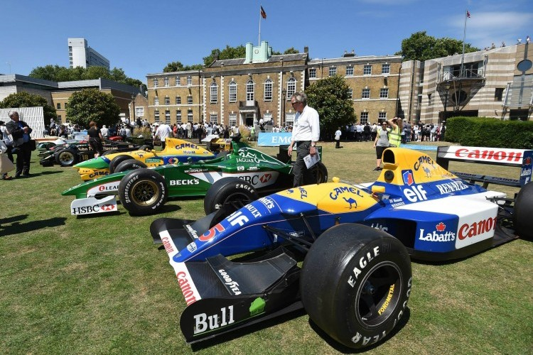 Classic F1 cars on show at Race Week London