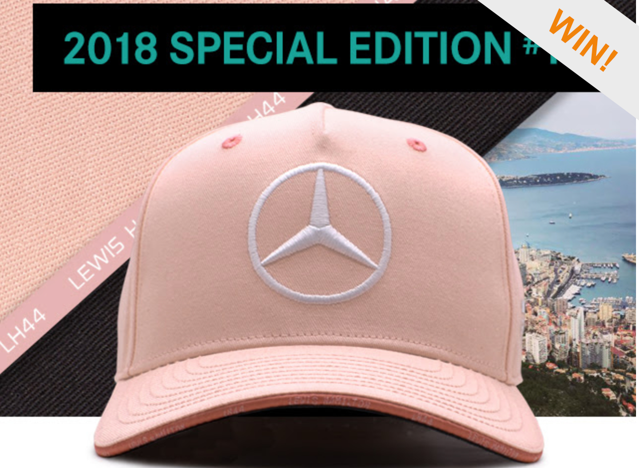 d989bf2f363 We are giving away an Official Monaco Lewis Hamilton Special Edition Cap.