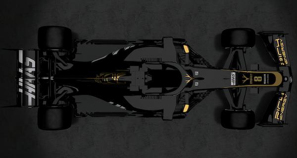 Haas F1 Team Livery