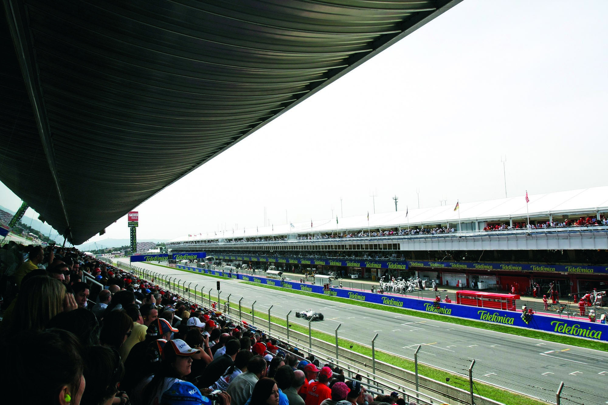 Main Grandstand JK Low